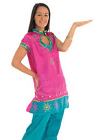 Costume de Bollywood Leading Lady Costume Fantaisie