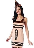 Crayola Crayons Bronze Tank robe Costume Costume Fantaisie