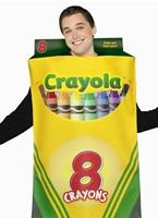 Boîte de crayons de couleur Crayola de Costume 8 Costume Fantaisie