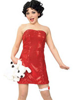 Betty Boop Costume Costume Fantaisie
