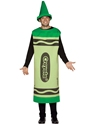 Costume Fantaisie Crayola Crayons adulte Costume vert