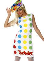 Costume féminin Twister 80 ' s Costume Fantaisie