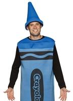 Crayola Crayons adulte Costume bleu Costume Fantaisie