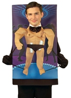 Teenie Weenies Male Stripper Costume Costume Fantaisie