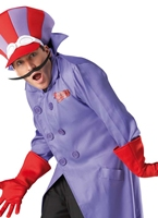 Dick Dastardly de Costume Wacky Races Costume Fantaisie