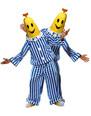 Costume Fantaisie Bananes en Pyjamas Costume