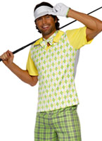 Costume de golf disparu Costume Fantaisie