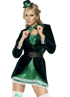 St. Patricks Day Costume vert Costume Fantaisie