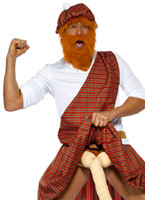 Eh bien les Costume de Highlander Hung Costume Fantaisie