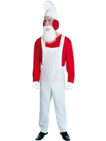 Costume rouge de Gnome Costume Fantaisie