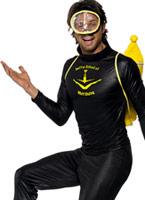 Costume de plongée Muff Diver Costume Fantaisie