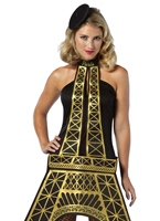 Tour Eiffel Mesdames Costume Costume Fantaisie