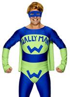 Wallyman Costume bleu vert Costume Fantaisie