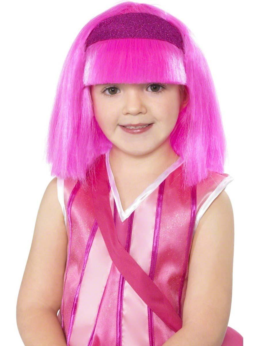 Costume de Lazy Town Lazy Town Stephanie Childrens Wig