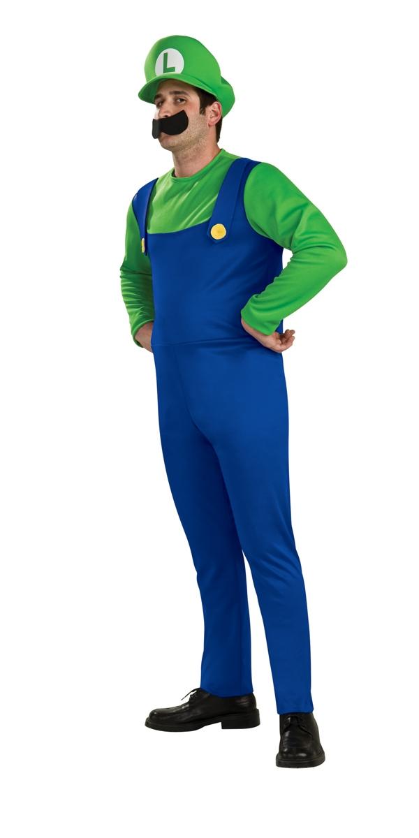 Costume de Mario Costume de Luigi depuis Super Mario