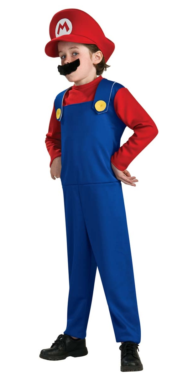 super mario childrens costume costume de mario deguisement dr le 29 01 2019. Black Bedroom Furniture Sets. Home Design Ideas