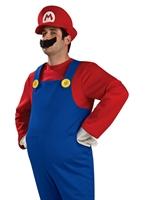 Costume de Mario Super luxe Costume de Mario