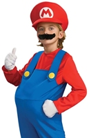 Childrens Costume de luxe Super Mario Costume de Mario