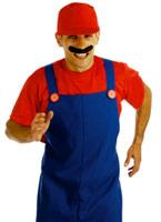80 ' s plombiers s'accouplent Costume rouge Costume de Mario