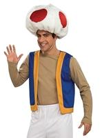 Costume de Super Mario Toad Costume de Mario