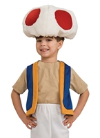Super Mario Toad Childrens Costume Costume de Mario