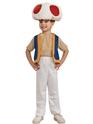 Costume de Mario Super Mario Toad Childrens Costume