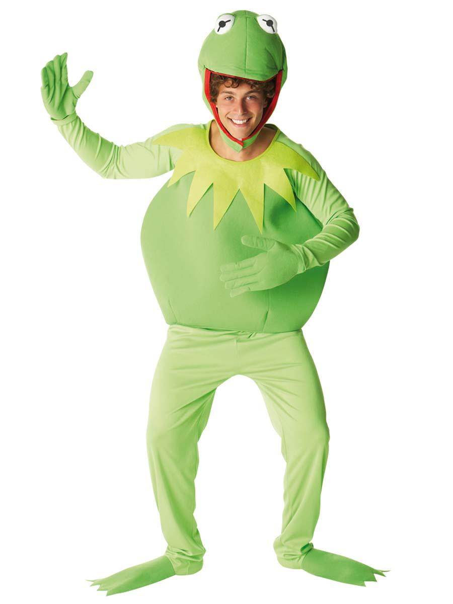 Le costume de kermit muppets costume de muppets for Deguisement trop drole