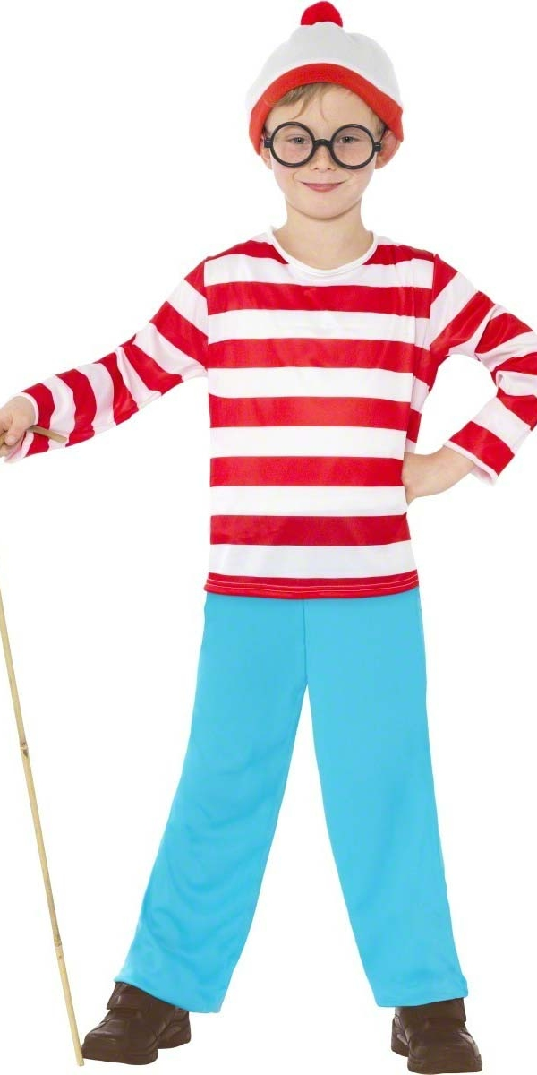 Costume Ou est Charly Où est Wally Childrens Costume