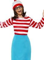 Où est Wally Wanda femme Costume Costume Ou est Charly