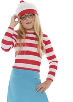 Où les filles Wally Wenda Costume Costume Ou est Charly