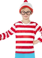 Où est Wally Childrens Costume Costume Ou est Charly