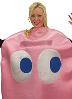 Costume Deluxe PacMan Pinky Costume Pacman