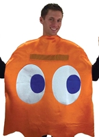 Costume Deluxe PacMan Clyde Costume Pacman