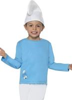Costume de Schtroumpf pour enfants garçon Costume Schtroumpf