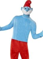 Costume de luxe Papa Smurf Costume Schtroumpf