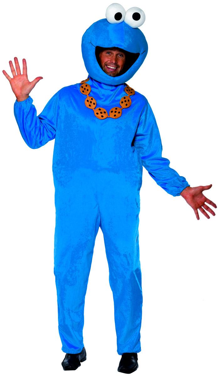 Costume de rue sésame Costume de monstre Cookie rue sésame