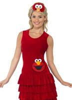 Sesame Street Elmo Costume Costume de rue sésame
