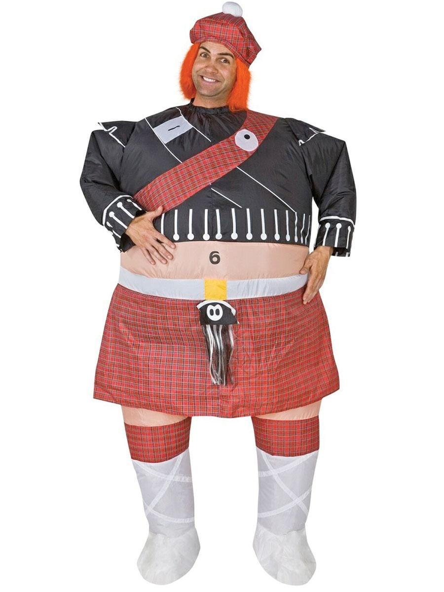 Costume gonflables Costume gonflable de Highlander