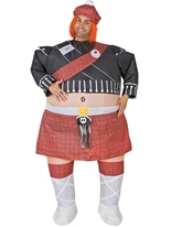 Costume gonflable de Highlander Costume gonflables