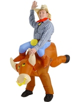 Gonflable Bull Rider Costume Costume gonflables