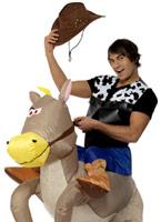 Ride em Cowboy Costume Costume gonflables