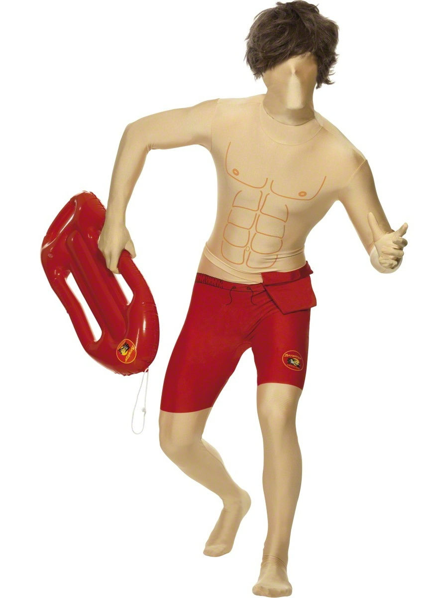 Seconde Peau Costume de Baywatch seconde peau