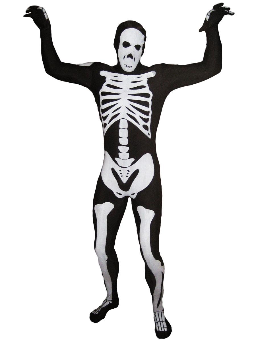 Seconde Peau Morphsuit squelette noir