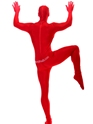 Seconde Peau Morphsuit rouge