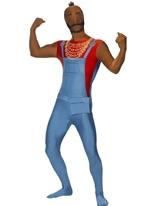 Costume de Monsieur T seconde peau Seconde Peau