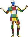 Seconde Peau Costume de Rubik Cube seconde peau