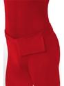 Seconde Peau Seconde peau costume rouge avec sac banane
