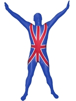 Morphsuit Union Jack Seconde Peau