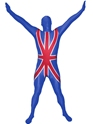 Seconde Peau Morphsuit Union Jack