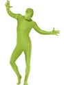 Seconde Peau Seconde peau costume vert avec sac banane